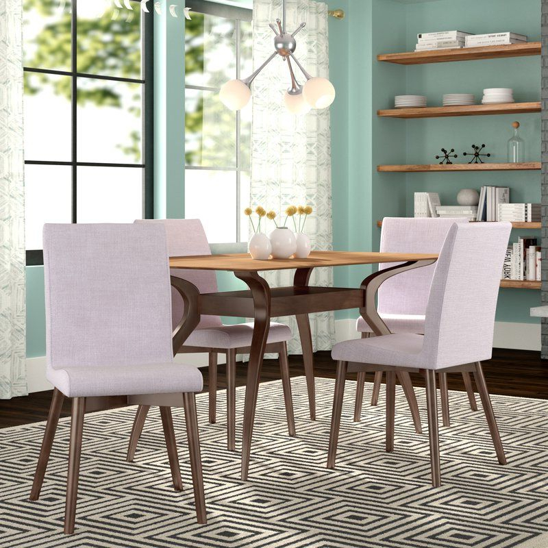 Liles 5 Piece Dining Set In 2019 (Gallery 19 of 20)