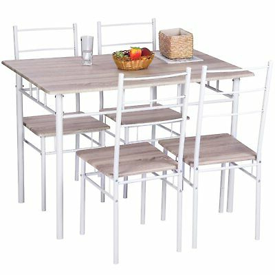 Lillard 3 Piece Breakfast Nook Dining Sets With Regard To Popular Ebern Designs Lightle 5 Piece Breakfast Nook Dining Set – $ (View 17 of 20)
