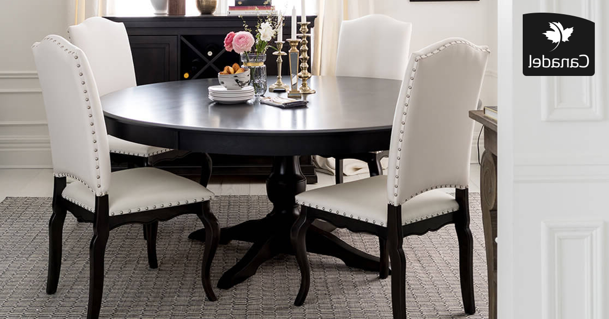 Lonon 3 Piece Dining Sets Pertaining To Most Recently Released Handcrafted In North America – Kitchen And Dining Room – Canadel (Gallery 3 of 20)