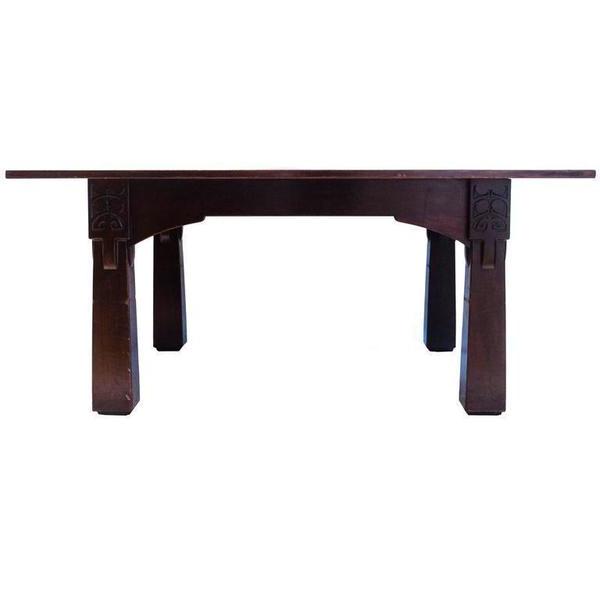 M H Baillie Scott A Cuban Mahogany Dining Table From The Liverpool With Best And Newest Baillie 3 Piece Dining Sets (Gallery 18 of 20)
