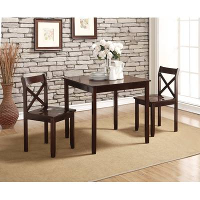 Maloney 3 Piece Breakfast Nook Dining Sets Pertaining To Well Known Williston Forge Maloney 3 Piece Breakfast Nook Dining Set & Reviews (View 11 of 20)