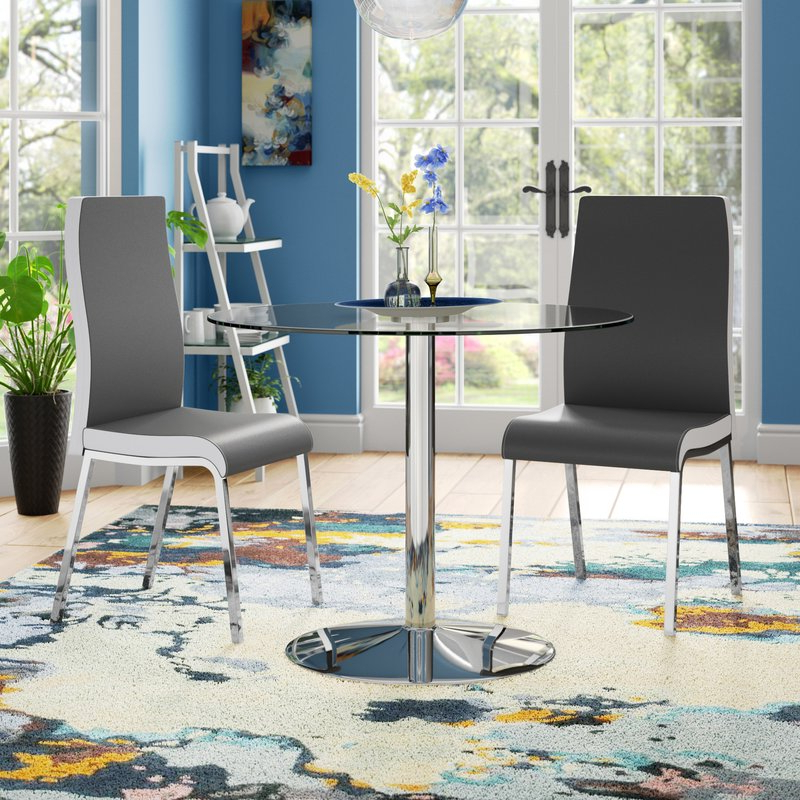 Maynard 5 Piece Dining Sets With Well Liked Salerno 3 Piece Dining Set & Reviews (Gallery 10 of 20)