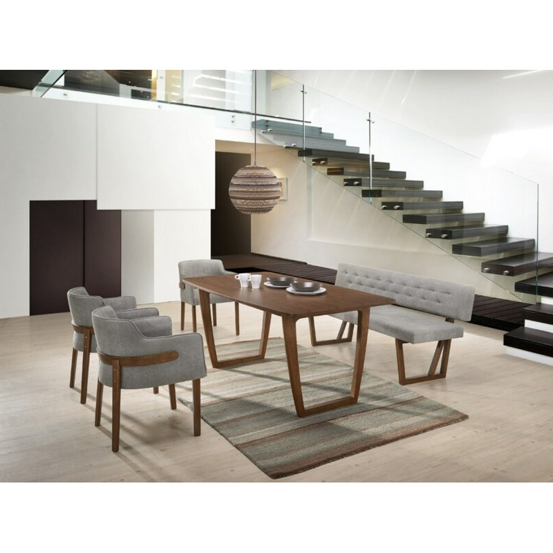 Mercury Row Mukai 4 Piece Dining Set (View 5 of 20)