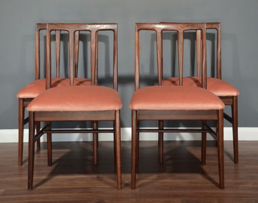 Mid Century Afromosia Dining Chairsjohn Herbert For A (View 20 of 20)