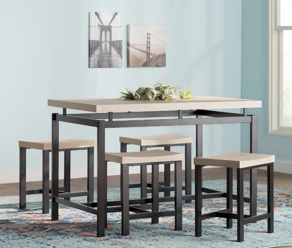 Middleport 5 Piece Dining Sets In Best And Newest Wayfair Kitchen & Dining Room Sale (View 10 of 20)
