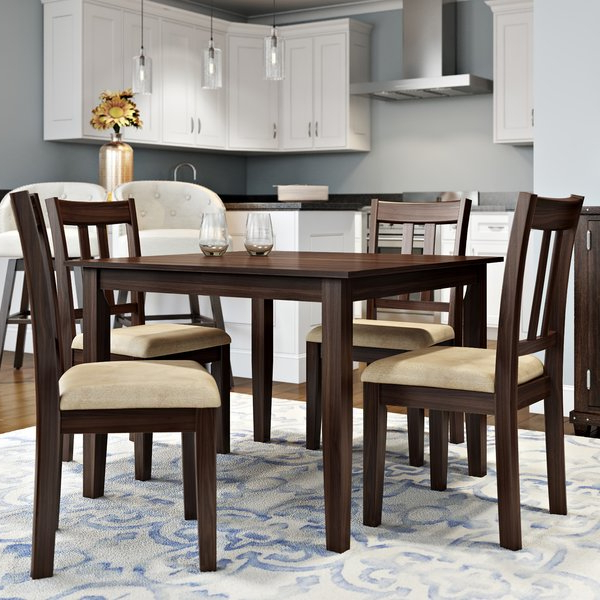 Middleport 5 Piece Dining Sets Regarding Latest Lowprice Primrose Road 5 Piece Dining Setalcott Hill (Gallery 8 of 20)