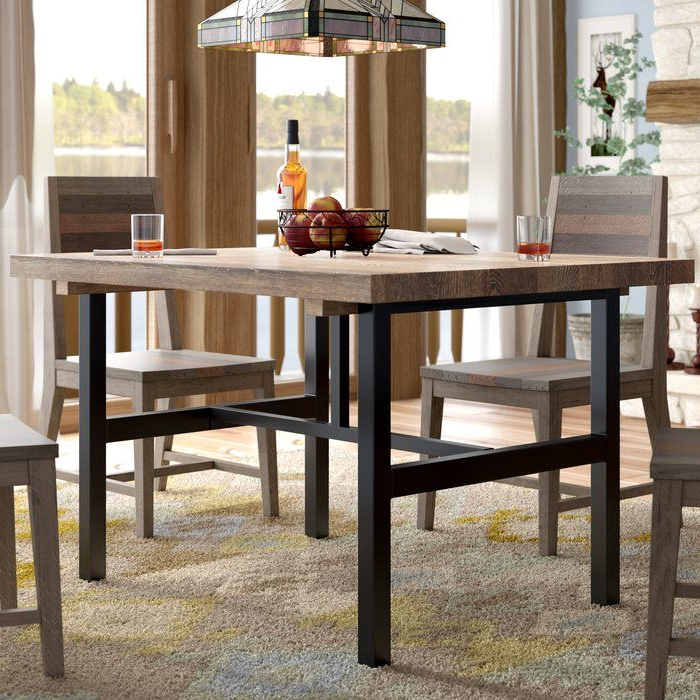 Mitzel 3 Piece Dining Sets Intended For Well Known Somers Dining Table (View 7 of 20)