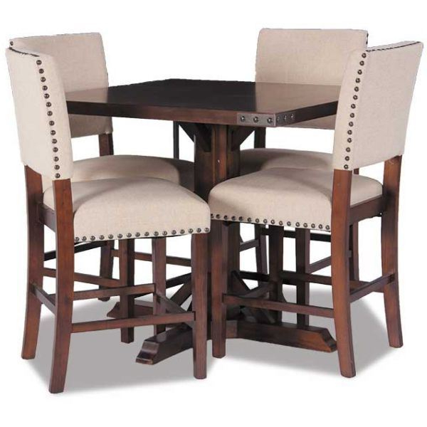 Modesto 5 Piece Dining Set Mdt432 5Pc Office Star Mdt432 Aes/424 Aes With Famous 5 Piece Dining Sets (View 13 of 20)