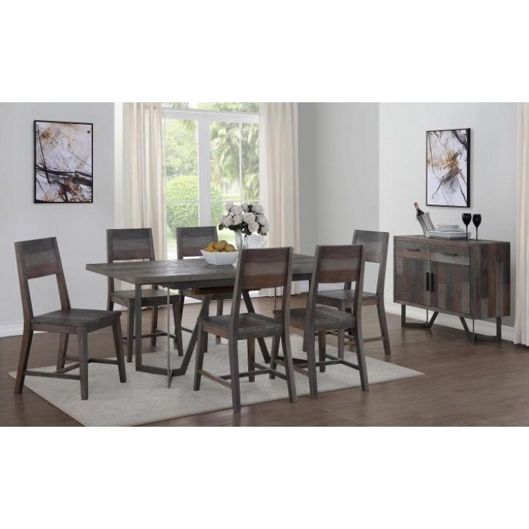 Most Current Great Offers On London Reclaimed Pine Furniture From Oak Furniture House Regarding Lonon 3 Piece Dining Sets (View 8 of 20)
