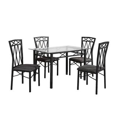 Most Current Red Barrel Studio Queener 5 Piece Dining Set & Reviews (Gallery 2 of 20)