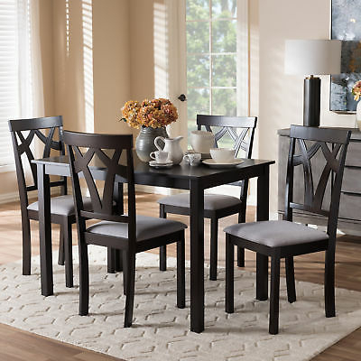 Most Popular Lillard 3 Piece Breakfast Nook Dining Sets Within Ebern Designs Lightle 5 Piece Breakfast Nook Dining Set – $ (View 15 of 20)
