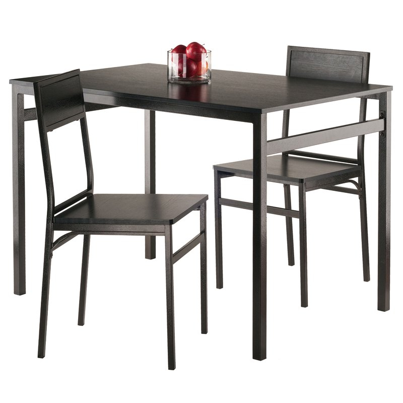 Most Popular Springfield 3 Piece Dining Sets For Latitude Run Springfield 3 Piece Dining Set & Reviews (Gallery 2 of 20)
