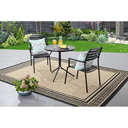 Most Popular Tarleton 5 Piece Dining Sets Throughout Amazon : Better Homes And Gardens Tarleton 3 Piece Bistro Set (Gallery 4 of 20)