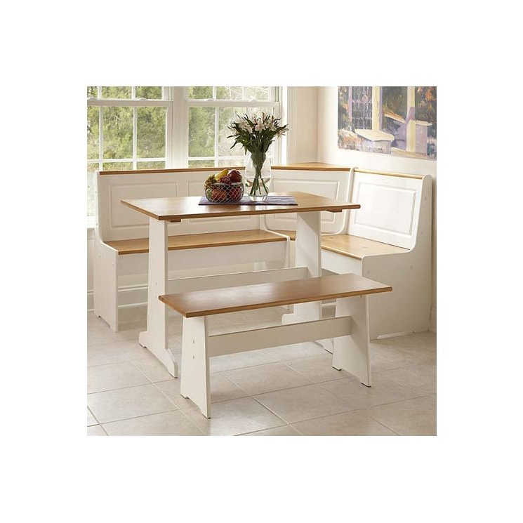 Most Popular Vuong 3 Piece Breakfast Nook Dining Setaugust Grove – San Jose Pertaining To 3 Piece Breakfast Nook Dinning Set (Gallery 19 of 20)