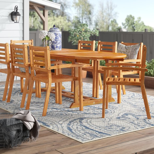 Most Recent 1 Cadsden 9 Piece Dining Setthree Posts Reviews (View 16 of 20)