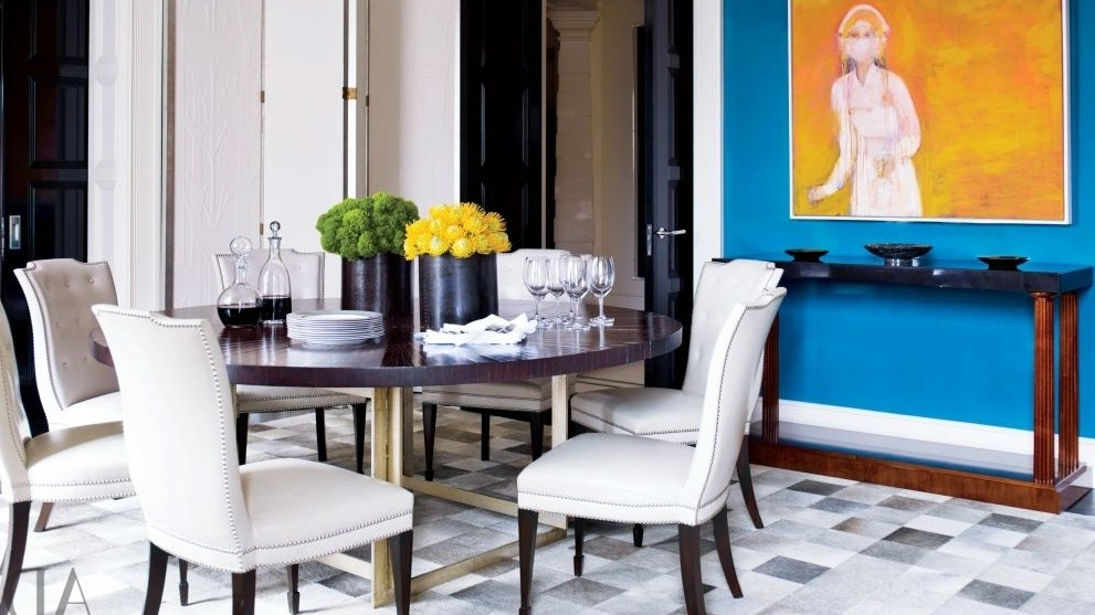Most Recent 19 Round Dining Tables That Make A Statement (View 20 of 20)