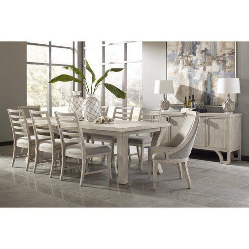 Most Recent Lamotte 5 Piece Dining Sets Inside Graphite 9 Piece Extendable Solid Wood Dining Set In (View 18 of 20)