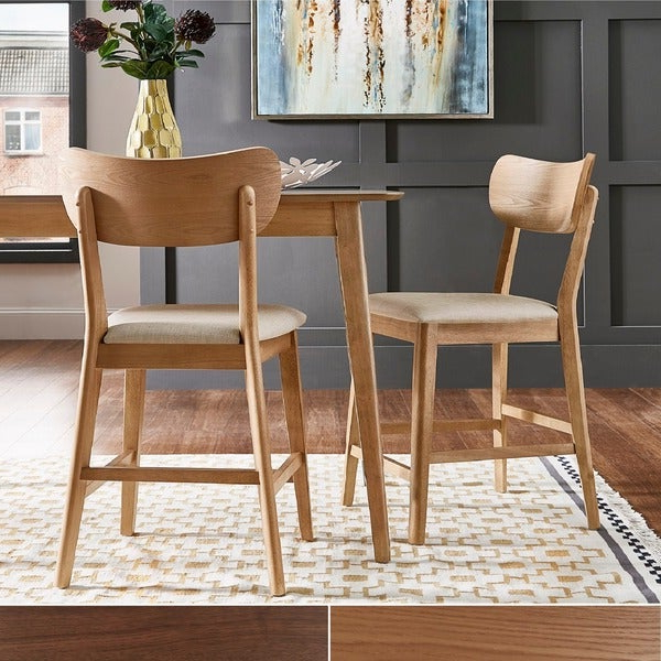 Most Recent Shop Penelope Danish Modern Tapered Leg Counter Height Chair (Set Of Pertaining To Penelope 3 Piece Counter Height Wood Dining Sets (View 7 of 20)