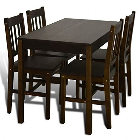 Most Recent Sundberg 5 Piece Solid Wood Dining Sets Within Sundberg 5 Piece Solid Wood Dining Set (View 8 of 20)