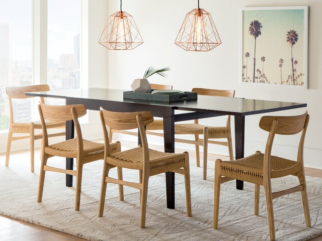 Most Recently Released Evellen 5 Piece Solid Wood Dining Sets (Set Of 5) For Modern & Contemporary Dining Room Sets (Gallery 20 of 20)