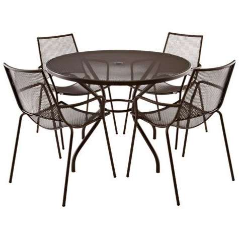 Most Recently Released John 4 Piece Dining Sets Pertaining To John Lewis & Partners Ala Mesh 4 Seater Garden Dining Table And (Gallery 9 of 20)