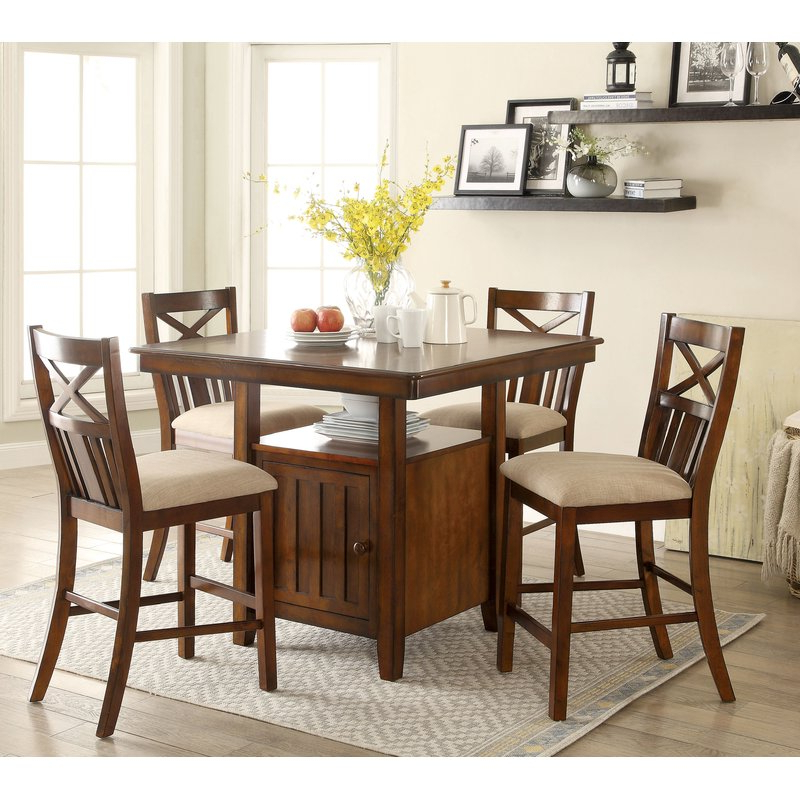 Most Recently Released Loon Peak Bryson 5 Piece Dining Set (View 14 of 20)