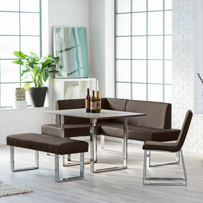 Most Recently Released Wow! 23 Space Saving Corner Breakfast Nook Furniture Sets (2019) With Regard To 5 Piece Breakfast Nook Dining Sets (View 14 of 20)