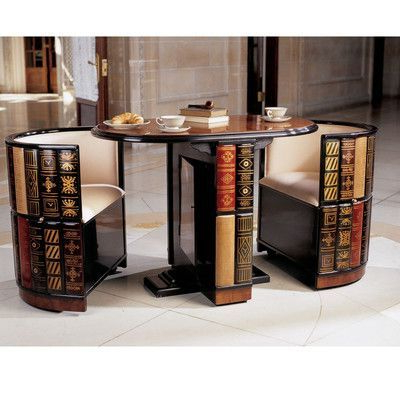 Most Up To Date 3 Piece Dining Sets Throughout Design Toscano 3 Piece Dining Set (View 20 of 20)