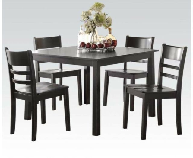 Most Up To Date Kernville 3 Piece Counter Height Dining Sets Intended For A&j Homes Studio Reagan 5 Piece Counter Height Dining Set (Gallery 16 of 20)