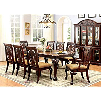 Most Up To Date Linette 5 Piece Dining Table Sets Pertaining To Amazon – Furniture Of America Evangelyn 7 Piece Dining Set With (View 11 of 20)