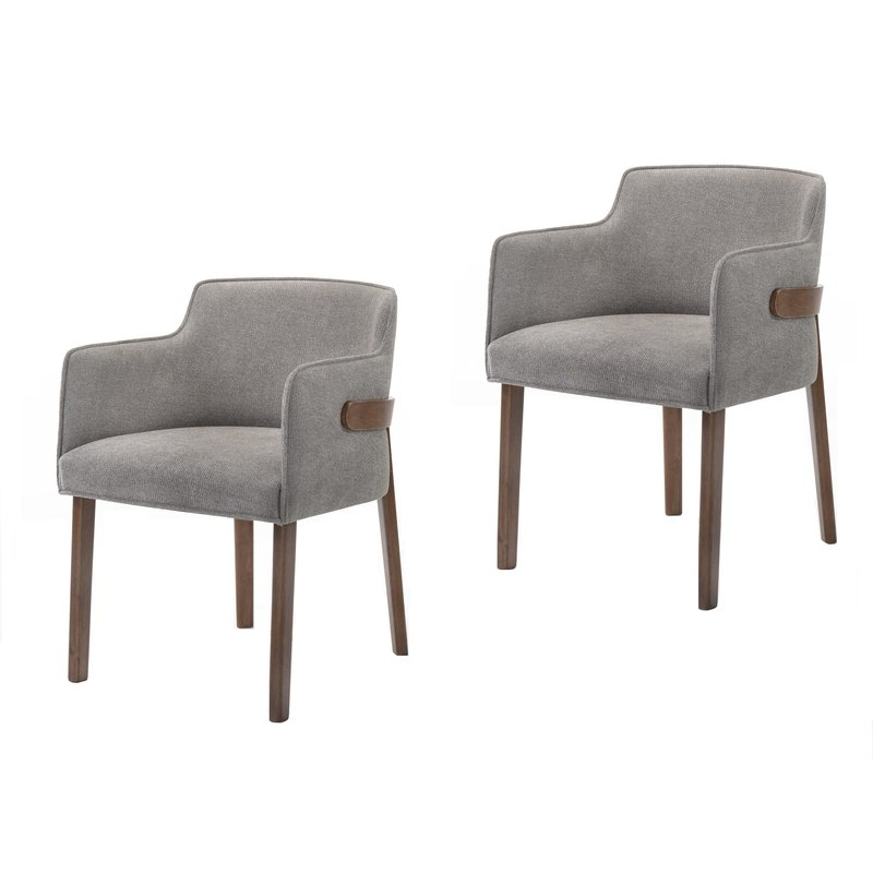 Mukai 5 Piece Dining Sets Intended For Popular Mukai Upholstered Dining Chair & Reviews (View 11 of 20)