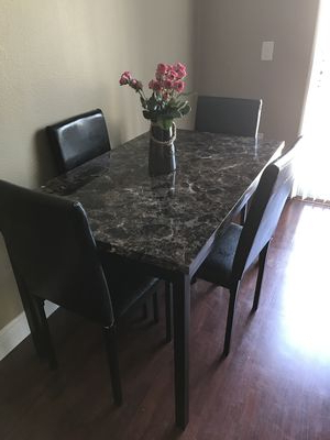 Noyes 5 Piece Dining Sets In Well Known Brand New Wayfair Noyes 5 Piece Dining Set For Sale In Orlando, Fl (Gallery 6 of 20)