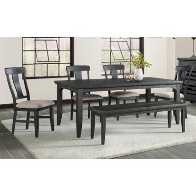 Osterman 6 Piece Extendable Dining Sets (Set Of 6) Intended For Most Recently Released Red Barrel Studio Osterman 6 Piece Extendable Dining Set (Gallery 6 of 20)