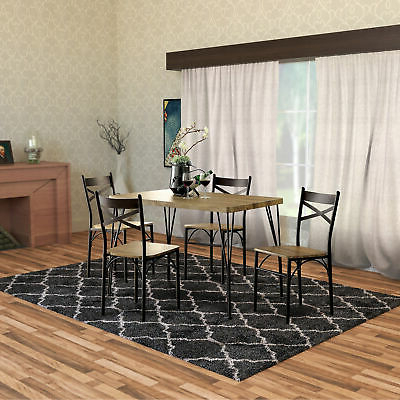 Picclick Inside Newest Emmeline 5 Piece Breakfast Nook Dining Sets (View 15 of 20)