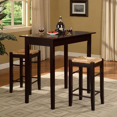 Popular Tenney 3 Piece Counter Height Dining Sets Inside Owings 5 Piece Dining Set & Reviews (Gallery 7 of 20)