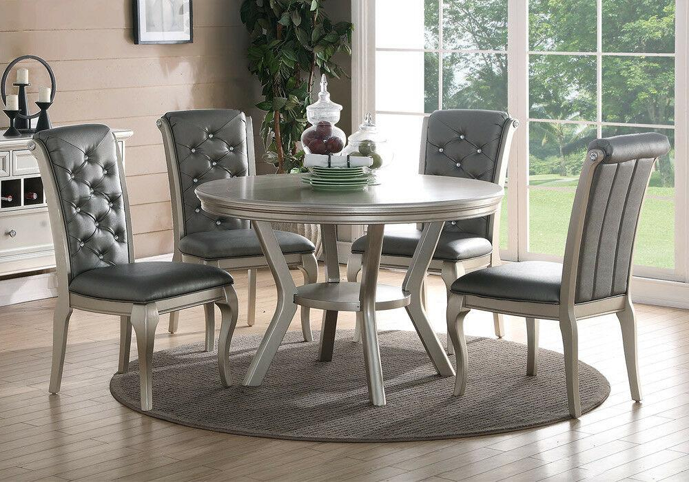 Poundex Dining Table Set (Gallery 14 of 20)