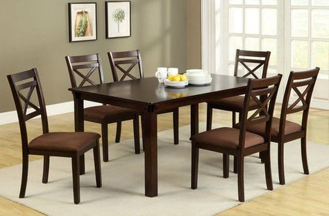 Pratiksha Sonoma 5 Piece Dining Sets Throughout Recent Carriage Hill 7 Piece Extendable Dining Set (Gallery 12 of 20)