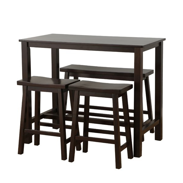 Preferred 3 Piece Counter Height Bar Table Sets You'll Love (View 17 of 20)