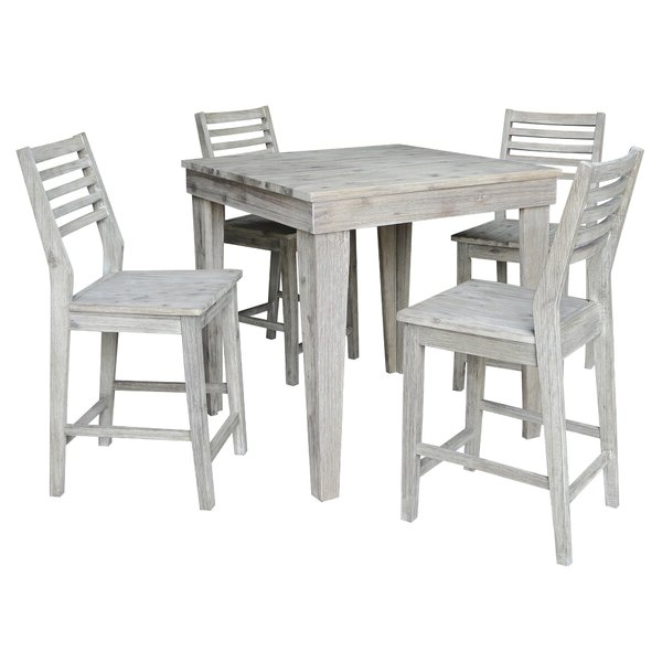 Preferred Calla 5 Piece Dining Sets For Gallimore 5 Piece Pub Table Setgracie Oaks Reviews On (View 12 of 20)