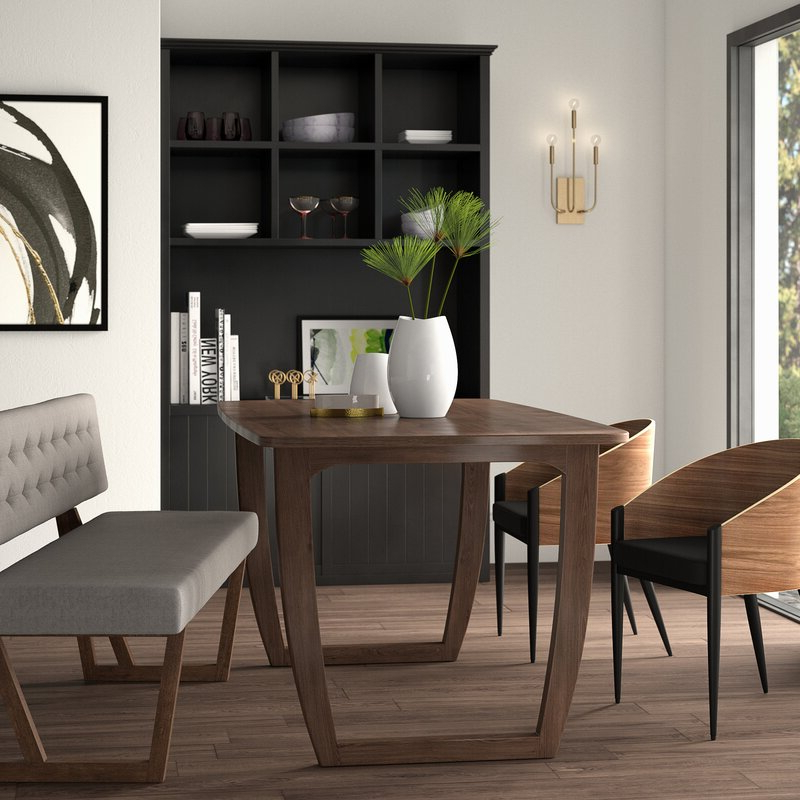 Preferred Mercury Row Mukai Dining Table & Reviews (View 8 of 20)