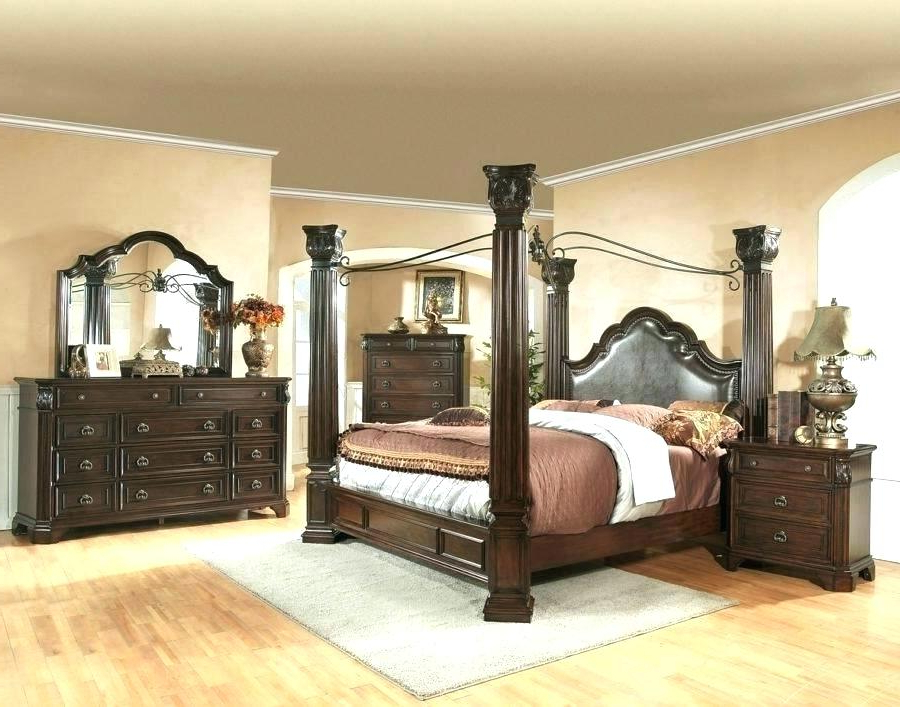 Preferred North Reading 5 Piece Dining Table Sets Within North Shore Ashley Canopy Poster Bedroom Set For Bed Sets Beds (Gallery 20 of 20)