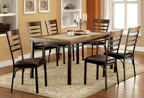 Preferred Pratiksha Sonoma 5 Piece Dining Sets With Regard To Carriage Hill 7 Piece Extendable Dining Set (View 16 of 20)