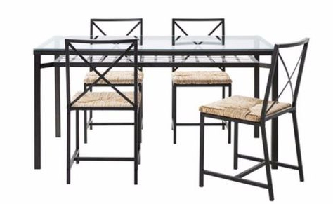 Queener 5 Piece Dining Sets Throughout Most Up To Date Pinterest (View 13 of 20)