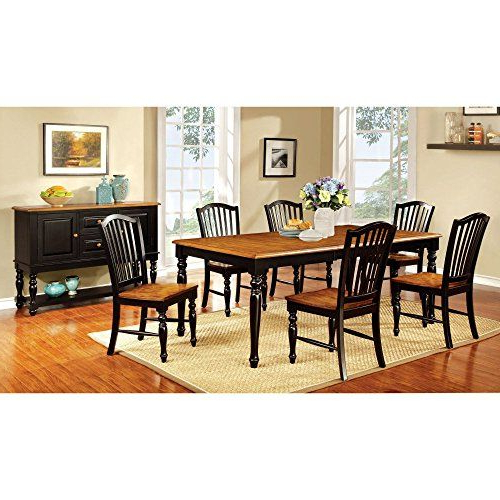 Recent Furniture Of America Drewes Dining Table *** Want To Know More Throughout Tavarez 5 Piece Dining Sets (View 13 of 20)