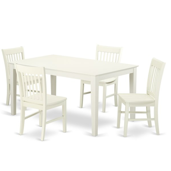 Recent Smyrna 5 Piece Dining Setcharlton Home Comparison On (View 9 of 20)