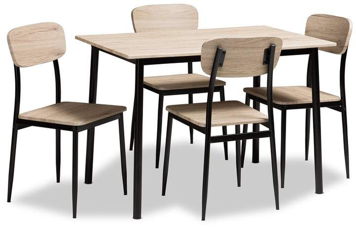 Recent Tejeda 5 Piece Dining Sets For Queen Anne Furniture Legs – Shopstyle (View 15 of 20)