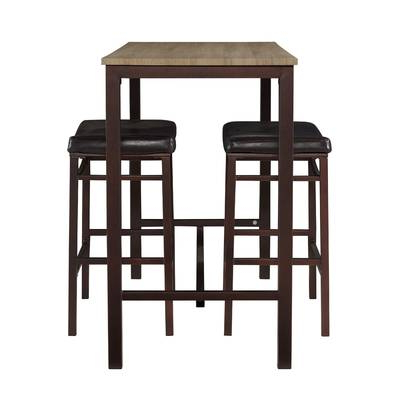 Red Barrel Studio Crownover 3 Piece Bar Table Set & Reviews (View 6 of 20)