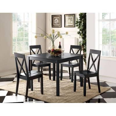 Red Barrel Studio Osterman 6 Piece Extendable Dining Set (View 12 of 20)