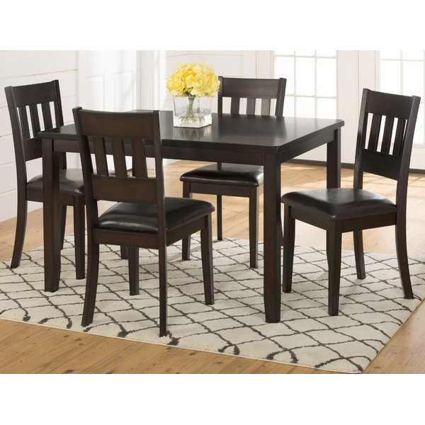 Round With Regard To Favorite Miskell 5 Piece Dining Sets (View 12 of 20)