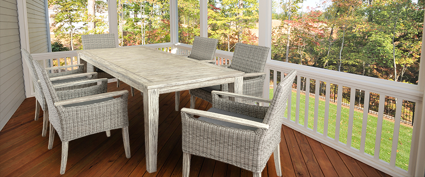 Saintcroix 3 Piece Dining Sets Intended For Recent St. Croix Dining – Inside Out Home Recreation Outfitters (Gallery 12 of 20)